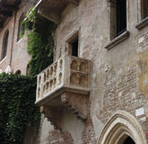 Julia´s Balcony in Verona Stock Photos