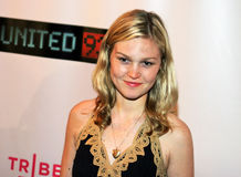 Julia Stiles. Actress Julia Stiles appears on the red carpet for the premiere of United 93 at the Tribeca Film Festival at the Tribeca Center for Performing Arts Royalty Free Stock Photo