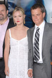 Julia Stiles,Matt Damon Royalty Free Stock Images