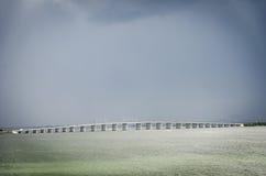 Julia Tuttle Causeway em Miami Florida fotos de stock