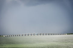 Julia Tuttle Causeway in Miami Florida stock foto's
