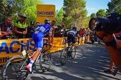 Julian Alaphillipe La Vuelta España royalty free stock photos