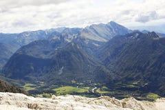Julian Alpen in Slovenië Stock Foto's