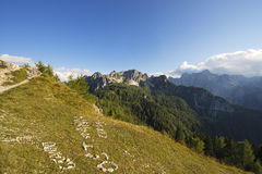 Julian Alps and Cima Cacciatori, Friuli Italy Royalty Free Stock Photos