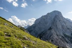 Julian Alps di estate 2018 fotografie stock