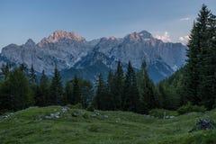 Julian Alps en el verano 2018 imágenes de archivo libres de regalías
