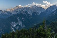 Julian Alps en el verano 2018 fotos de archivo libres de regalías