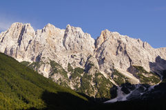 Julian alps - Gamsova spica peak Royalty Free Stock Photo