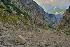 Julian Alps III , Parc national de Triglav Photographie stock