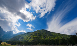 Julian Alps - Mount Mangart Friuli Italy Royalty Free Stock Photos