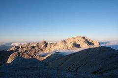 Julian Alps. Mountain Range of Julian Alps Stock Image