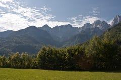 Julian Alps in Slovenia Stock Photography
