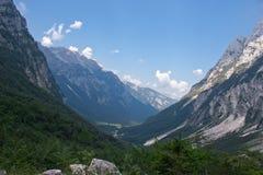 Julian Alps in Slovenia Royalty Free Stock Photo
