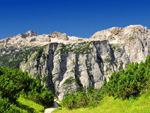 Julian Alps, Slovenia. Triglav National Park - Julian Alps, Slovenia Royalty Free Stock Photo
