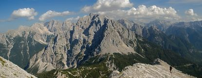 Julian Alps ,Slovenia Royalty Free Stock Photo