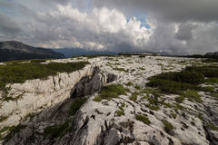 Julian Alps, Slovenia. A plateau in Julian Alps, Slovenia Stock Image
