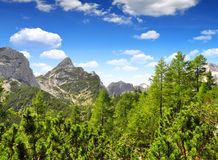 Julian Alps, Slovenia. Triglav National Park - Julian Alps, Slovenia Stock Photo