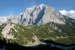 Julian Alps, Slovenien Royaltyfri Fotografi
