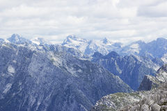 Julian Alps in the summer Stock Image