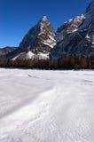 Julian Alps in valle di Saisera - Friuli Italia Fotografia Stock