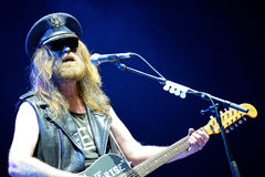 Julian Cope (English rock musician, author, musicologist and cultural commentator) performs at Heineken Primavera Sound 2014. BARCELONA - MAY 29: Julian Cope ( Stock Photography