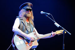 Julian Cope (English rock musician, author, musicologist and cultural commentator) performs at Heineken Primavera Sound 2014 Stock Photography