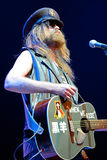 Julian Cope (English rock musician, author, musicologist and cultural commentator) performs at Heineken Primavera Sound. BARCELONA - MAY 29: Julian Cope (English Royalty Free Stock Photography