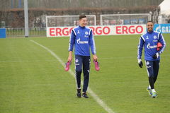 Julian Draxler & Sidney Sam Royalty Free Stock Photo