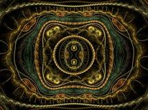 Julian fractal vector illustratie