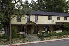 Julian Hotel in Historische Goudwinningsstad van Julian California stock fotografie