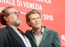 Julian Schnabel and Willem Dafoe Royalty Free Stock Photo