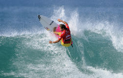Julian Wilson. Quiksilver pro surfing the France 2011 Stock Images