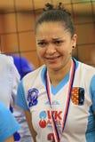 Juliana Gomes - volleyball Royalty-vrije Stock Afbeelding