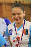 Juliana Gomes - volleyball Royalty Free Stock Image
