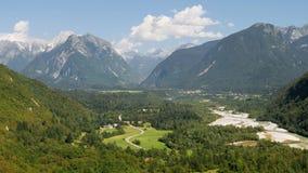 Julianische Alpen Stockfotografie