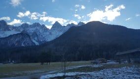 Julianisches alpe von Slowenien stockfotografie