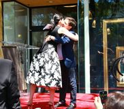 Julianna Margulies e Michael J raposa Fotos de Stock Royalty Free