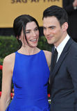 Julianna Margulies & Keith Lieberthal Royalty Free Stock Photos