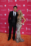 Julianne Hough, Chuck Wicks Stockbild