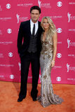 Julianne Hough, Chuck Wicks Immagini Stock