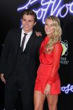 Julianne Hough, Kenny Wormald. Kenny Wormald and Julianne Hough  at the Footloose Los Angeles Premiere, Regency Village Thester, Westwood, CA 10-03-11 Royalty Free Stock Image