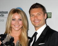 Julianne Hough, Ryan Seacrest Stock Photo