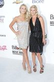 Julianne Hough und Schwester Stockfotografie