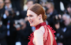 Julianne Moore attends the `Ismael`s Ghosts Les Fantomes d`Isma Stock Photography