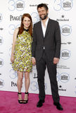 Julianne Moore and Bart Freundlich Royalty Free Stock Photos