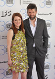 Julianne Moore & Bart Freundlich Royalty Free Stock Photos