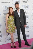 Julianne Moore & Bart Freundlich Stock Photos