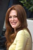 Julianne Moore Blake przy Hollywood spacerem sława Cer i John Obraz Stock