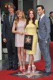 Julianne Moore & Chloe Grace Moretz & Joseph Gordon-Levitt & Jay Roach Fotografie Stock Libere da Diritti