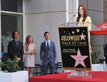 Julianne Moore & Chloe Grace Moretz & Joseph Gordon-Levitt & Jay Roach Stock Image